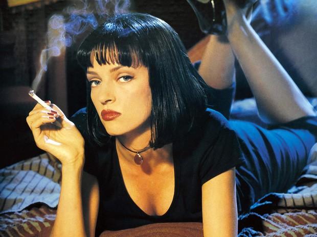 Uma Thurman no filme Pulp Fiction (Foto: Divulgação/Miramax )