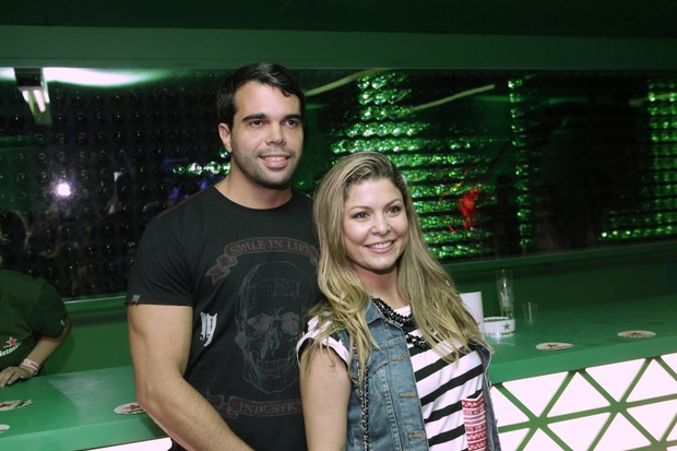 Pedro Delfino e Bárbara Borges (Foto: Isac Luz / EGO)