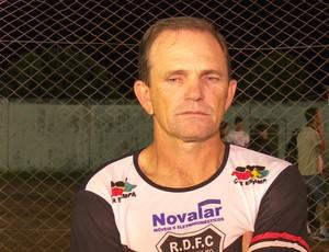 PC Schardong, técnico do Real Ariquemes (Foto: Rede Amazônica/ Reprodução)