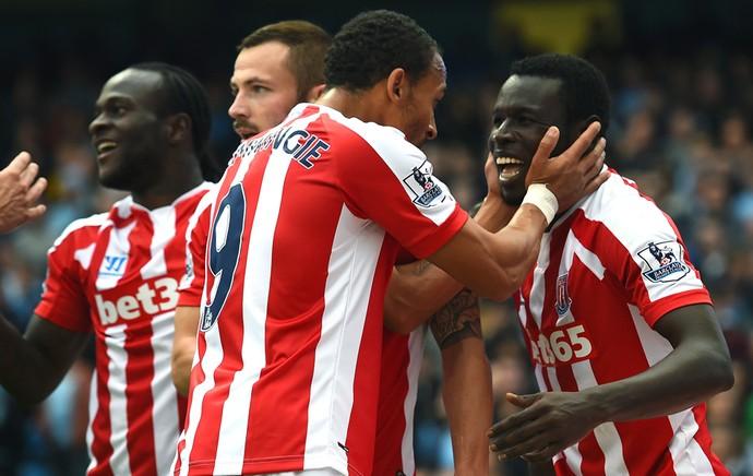 Comemoracao gol Stoke City (Foto: Getty)