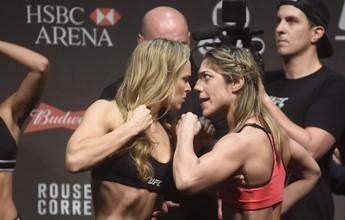 """Bethe volta a gritar na cara de Ronda, que promete """"melhor luta que já viram"""""""