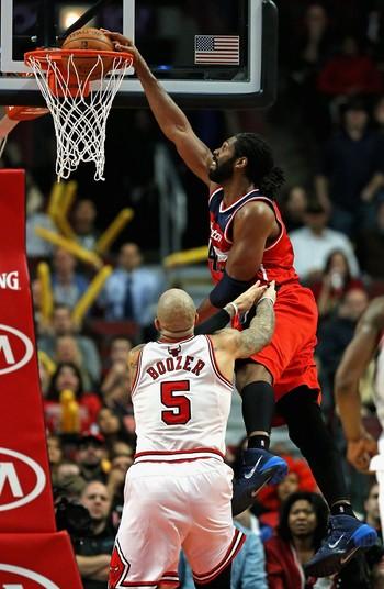 Nenê Washington Wizards Chicago Bulls (Foto: Getty Images)