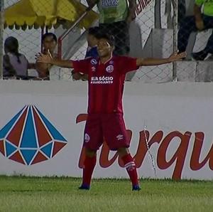 Rony Salgueiro x Náutico (Foto: Reprodução)