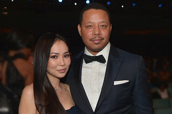Terrence Howard e Michelle Ghent (Foto: Getty Images)