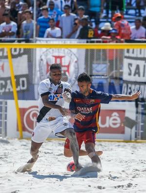 Barcelona e Vasco da Gama final do Mundialito de Clubes no Rio de Janeiro (Foto: beachsoccer.com/Marcello Zambrana)