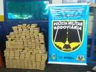 Polícia prende suspeito com 190 kg de maconha em rodovia de MS