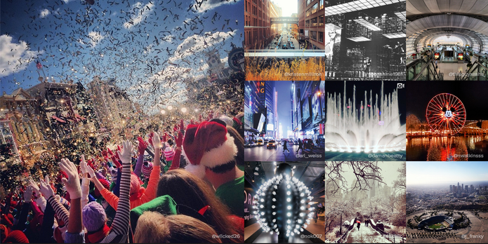 Instagram divulga cidades mais clicadas pelos usuários (Foto: Reprodução/Instagram)