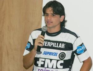 Ancelmo, meia do XV de Piracicaba (Foto: Guto Marchiori/Globoesporte.com)