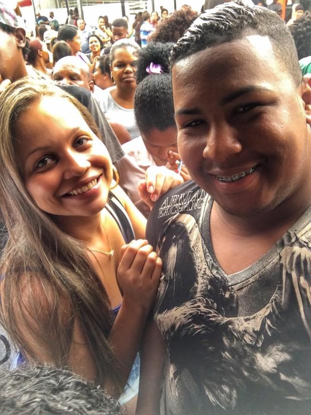 Amanda e Wellington Vinicius (Foto: Reprodução/Facebook)