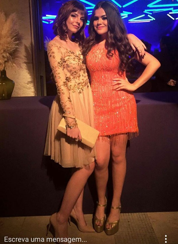 Beatriz Parizotto e Maisa Silva (Foto: Instagram)