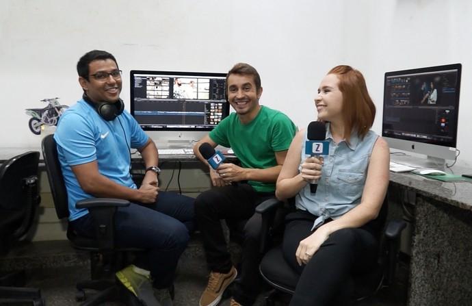 André é o editor do 'Zapp' (Foto: Rede Amazônica)