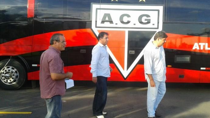 Marcelo Martelotte, técnico do Atlético-GO (Foto: Guilherme Gonçalves/Globoesporte.com)