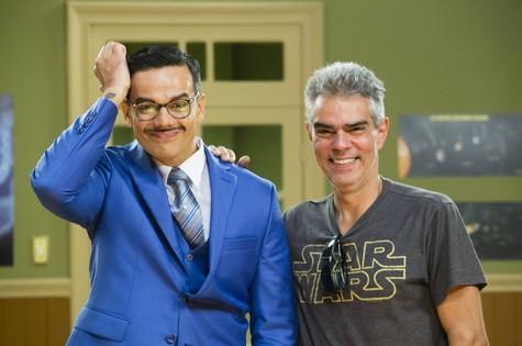 Otaviano Costa e Nizo Neto (Foto: Tata Barreto/TV Glono)