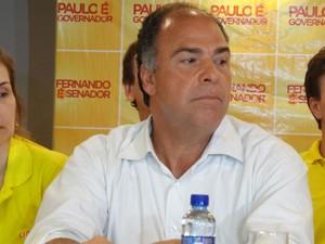 Fernando Bezerra Coelho, senador eleitor por Pernambuco (Foto: Luna Markman/G1)