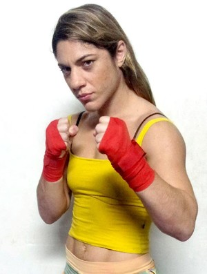 Bethe 'Pitbull' Correia, lutadora de MMA (Foto: Arquivo Pessoal)
