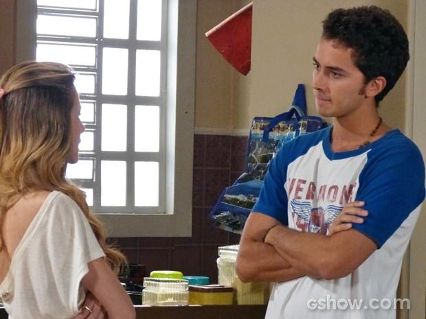Ben fica furioso com Sofia (Foto: Malhação / TV Globo)