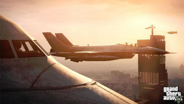 Ao contrário do 'GTA IV', jogador poderá controlar aviões em novo game (Foto: Divulgação)