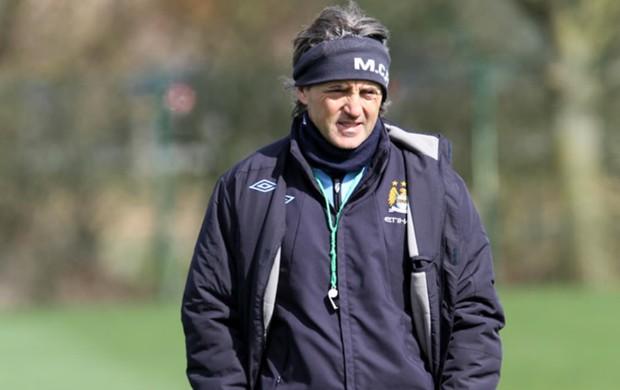Roberto Mancini técnico Manchester City (Foto: Reprodução / Site Oficial)