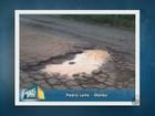 Morador reclama de buracos e falta  de asfalto em estrada de Matão, SP