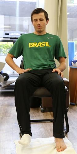 Ricardinho futebol de 5 fisioterapia (Foto: Divulgação)