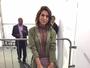Fernanda Paes Leme vai ao SPFW com sapato de mais de R$ 4 mil