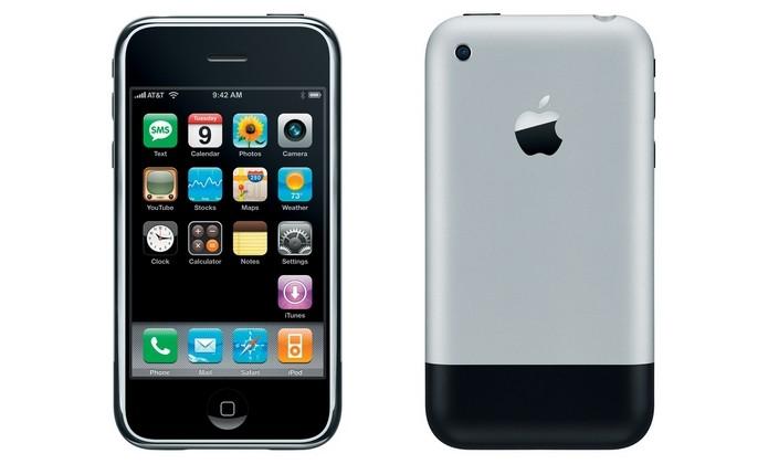 Primeiro iPhone, lançado em 2007, estreou Gorilla Glass (Foto: Divulgação/Apple)