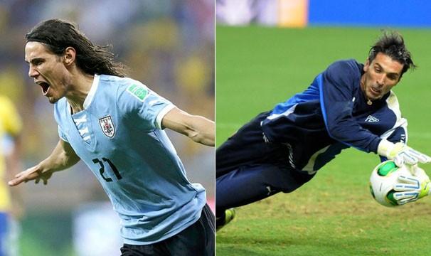 Uruguai e Itália se enfrentam em disputa pelo terceiro lugar do campeonato (Foto: Reuters / André Durão / Globoesporte.com)