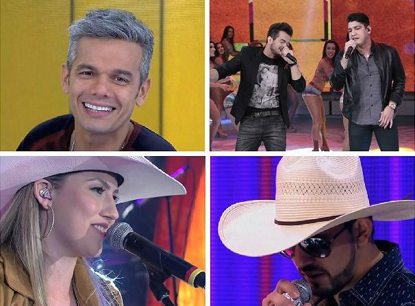 Artistas e cantores mato-grossenses que representam a nossa região! (Foto: Reprodução/TVCA)