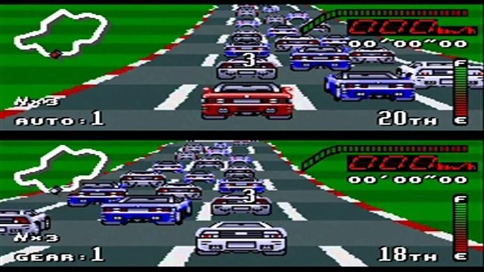 Melhores jogos de corridas do SNES: Top Gear (Fonte: Reprodução/YouTube)