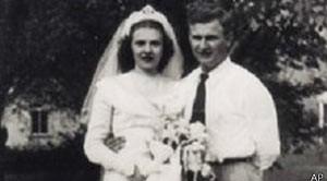 Harold e Ruth se casaram em 1947 (Foto: AP)