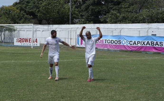 Ranieri e Hércules foram autores de dois dos três gols do Espírito Santo na goleada sobre o GEL (Foto: Richard Pinheiro/GloboEsporte.com)