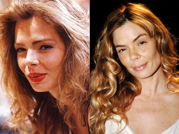 Alexia Dechamps era Maria Helena, amiga de Vera (Isadora Ribeiro) (Foto: Vídeo Show / Gshow)