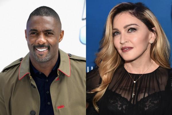 Idris Elba e Madonna  (Foto: Getty Images)