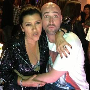 Regina Casé e Paulo Gustavo em festa no Rio (Foto: Instagram/ Reprodução)