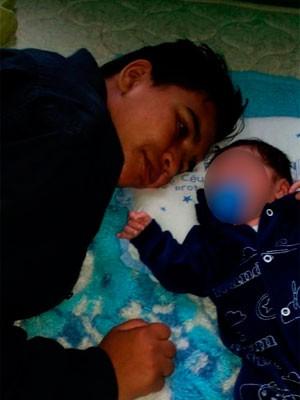 Casal transgênero Porto Alegre tem primeiro filho (Foto: Arquivo Pessoal)