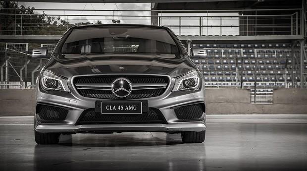 Mercedes CLA 45 AMG (Foto: Divulgação)