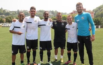 Sem Willian, campeões com a Briosa retornam ao Santos após empréstimo
