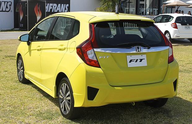 Novo Honda Fit (Foto: Autoesporte)
