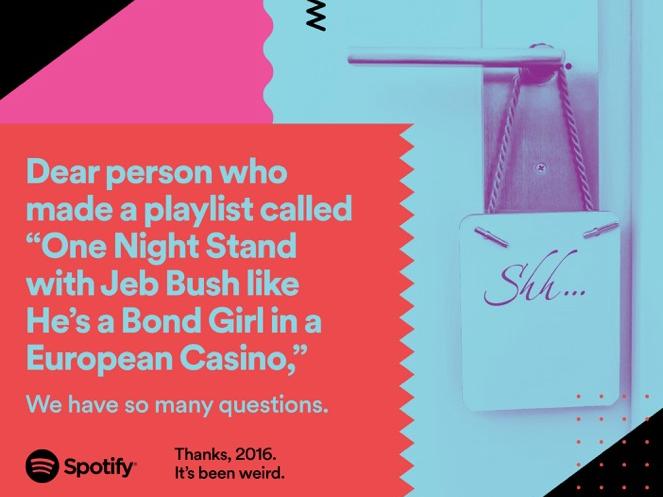 Uma playlist para uma noite de fantasias bem especficas (Foto: Divulgao/Spotify)