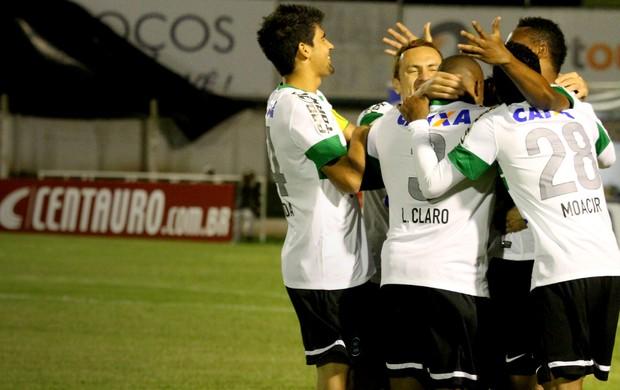 Caldense x Coritiba Copa do Brasil (Foto: Luciano Santos/VIPCOMM)