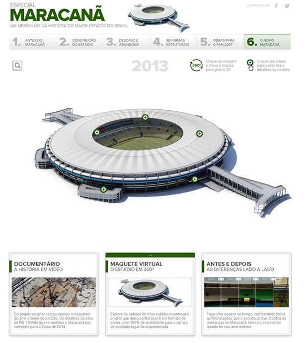 print info maracanã (Foto: arte esporte)