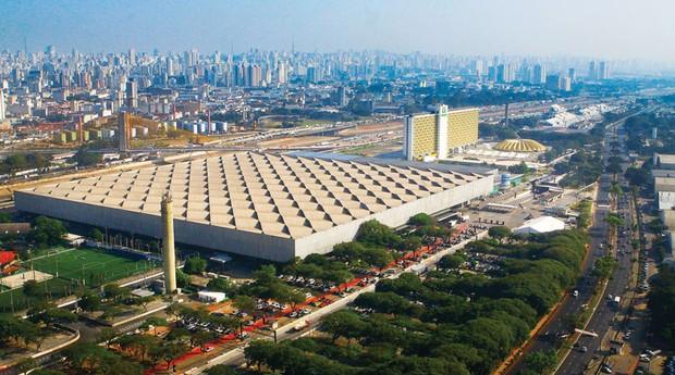 Pavilhão de exposições do Anhembi: plano de privatização (Foto: Caio Pimenta/SPTuris)