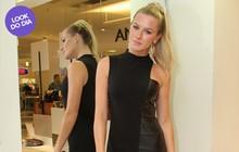 Look do dia: Fiorella Mattheis usa vestido sexy de couro para evento