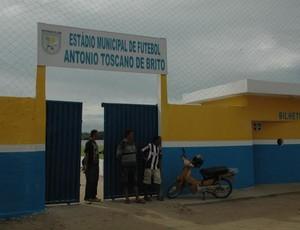 Estádio Toscanão, Lucena, Paraíba (Foto: Divulgação)
