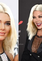 E se toda a família Kardashian aderisse ao platinado de Kim? Confira!