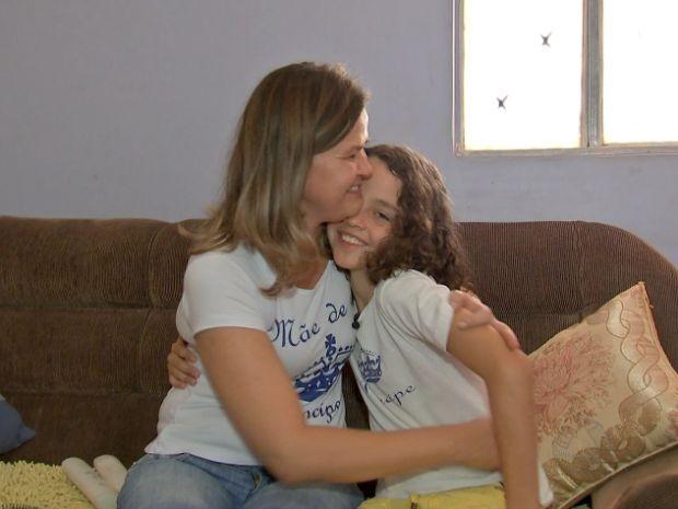 Mãe se diz orgulhosa da atitude do filho (Foto: Reprodução/ TVCA)