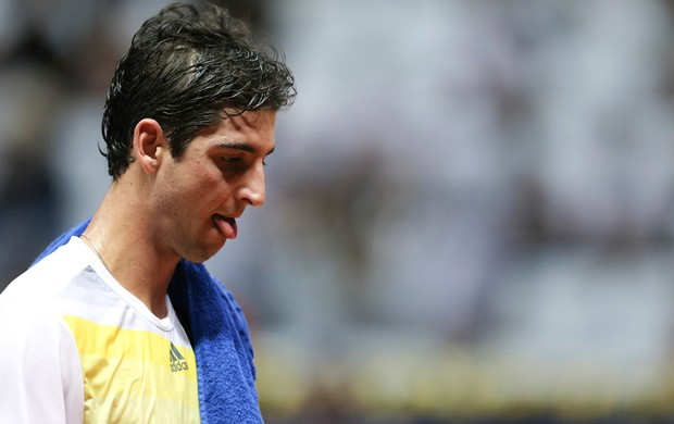 Thomaz Bellucci t&#234;nis Brasil Open oitavas (Foto: Getty Images)