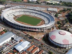 Foto aérea do estádio Beira-Rio (Foto: Divulgação)