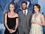 Première tem Charlize Theron, Chris Hemsworth e Emily Blunt