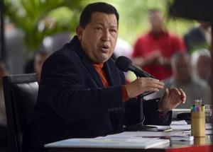 O presidente venezuelano durante entrevista em Caracas, na última quarta (5) (Foto: Juan Barreto / AFP)
